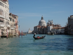 Venedig: Fahrt auf dem Canale Grande