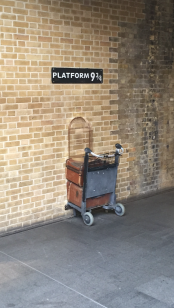 Kings Cross: Platform 9 3/4
