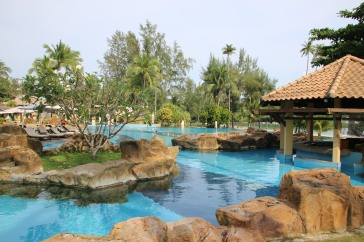 Bintan: Pool des Nirwana Resort Hotels