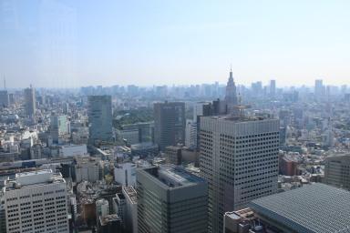 Aussicht vom Tokyoter Rathaus