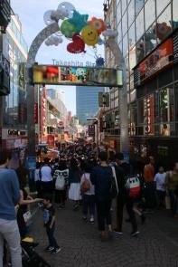 Harajuku: Einkaufsstraße Takeshita-dori