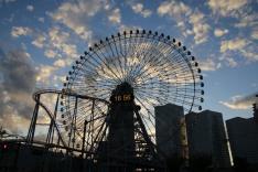 Yokohama: Cosmo World mit Riesenrat