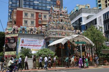 Singapur: Sri Veerama Kaliamman Tempel