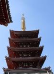 5-stufige Pagode Senso-ji