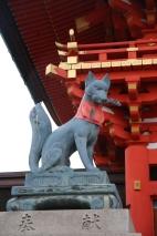 Fushimi Inari-Taisha Fuchs