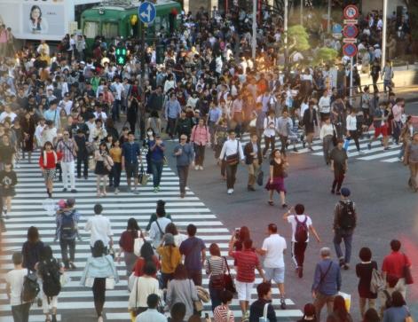 Hachiko Kreuzung Shibuya