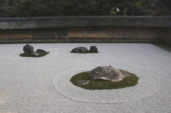 Ryoan-ji Zen-Garten