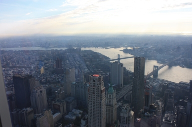 New York Blick One World Observatory