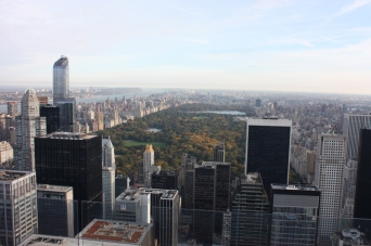New York Blick vom Top of the Rock