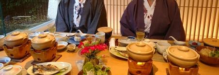 Ryokan Frühstück japanisch