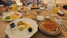 Ryokan Frühstück westlich