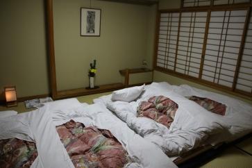Ryokan Schlafzimmer