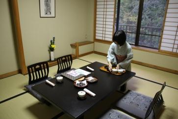 Ryokan Wohnzimmer