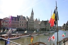 Belgien Gent Graslei
