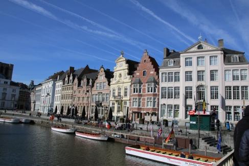 Belgien Gent Korenlei