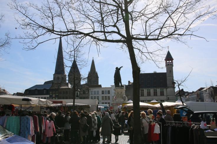 Belgien Gent Vrijdagsmarkt