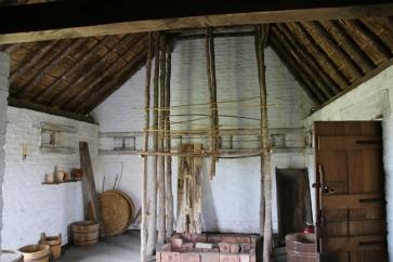 Belgien Raversyde Anno 1465 Haus