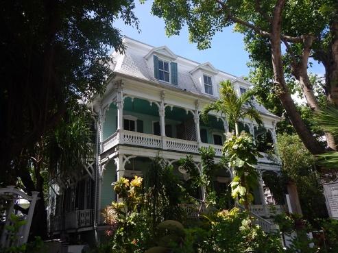 Florida Key West historisches Haus