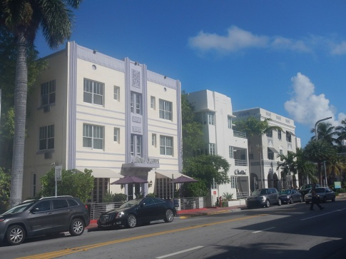 Florida Miami South Beach Art Deco Häuser