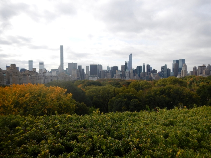 New York Blick Central Park und Midtown vom MET