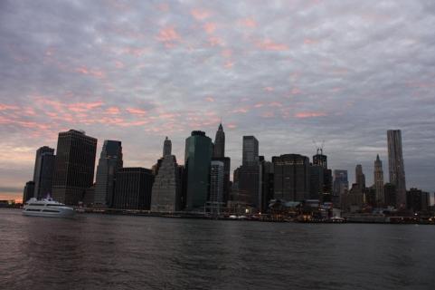 New York Blick von Dumbo auf Manhattan