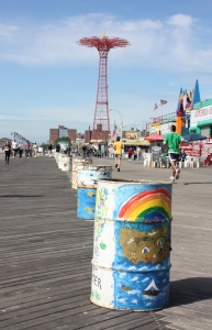 New York Coney Island Uferpromenade