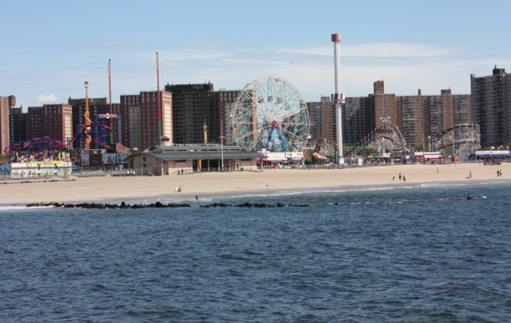 New York Coney Island Vergnügungspark