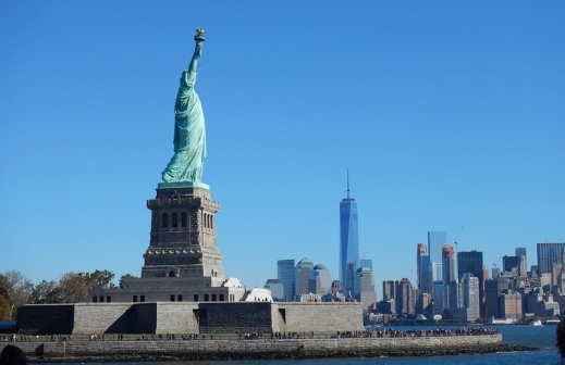 New York Liberty Island Freiheitsstatue