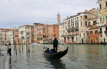 Venedig Canale Grande mit Gondel