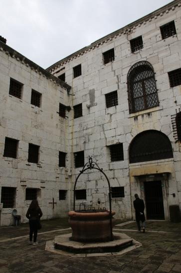 Venedig Gefängnis Innenhof