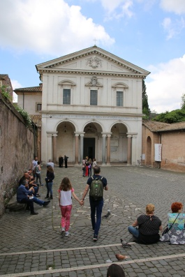 Rom Basilika des Heiligen Sebastian