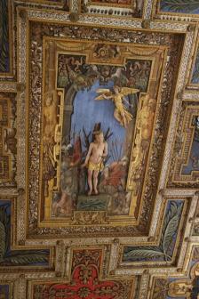 Rom Deckenbild Heiliger Sebastian
