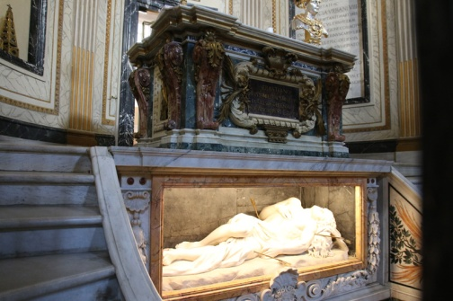 Rom Grab des Heiligen Sebastian