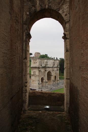 Rom Kolosseum Konstantinsbogen