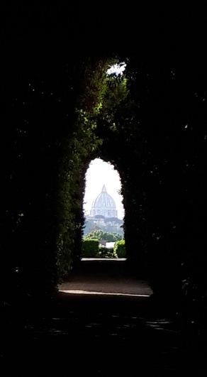 Rom Malteserorden Schlüsselloch Petersdom