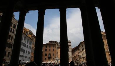 Rom Pantheon Eingangssäulen