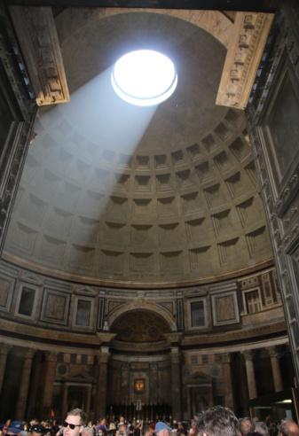 Rom Pantheon Lichteinfall
