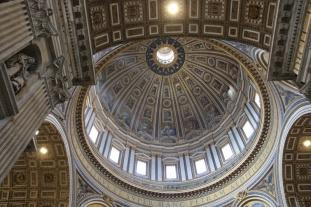 Rom Petersdom Kuppel