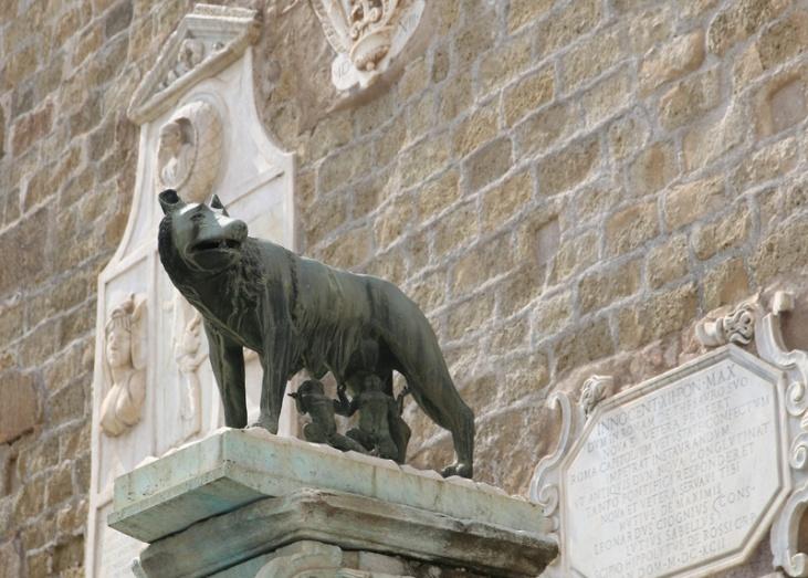 Rom Romulus und Remus Kapitol