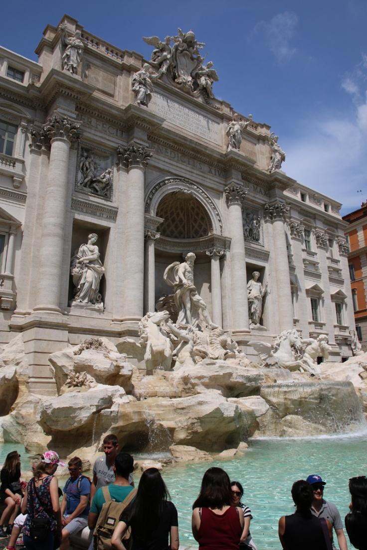 Rom Trevi Brunnen