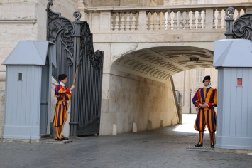 Rom Vatikan Schweizer Garde