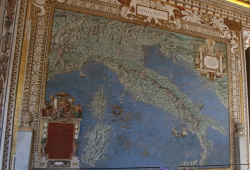Rom Vatikanische Museen Landkarten