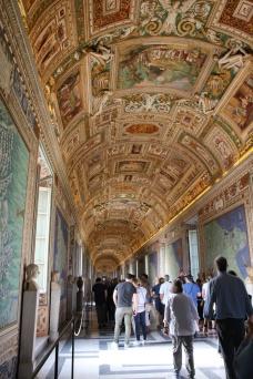 Rom Vatikanishe Museen Galerie der Landkarten