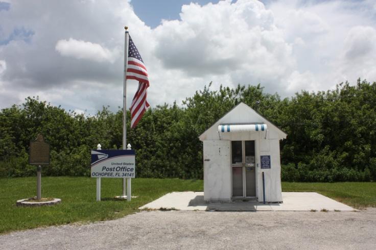 Florida Ochopee kleinstes Postamt