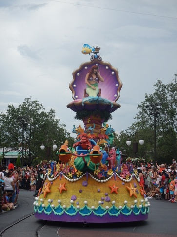 Florida Orlando Disney Parade