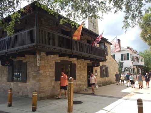 Florida St Augustine Gassen historic District
