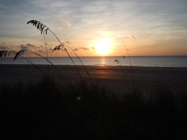 Georgia Jekyll Island Sonnenuntergang