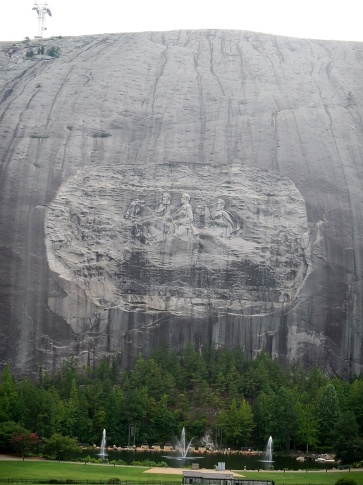 Georgia Stone Mountain Relief