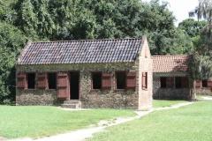South Carolina Boone Hall Plantation Sklavenhäuser