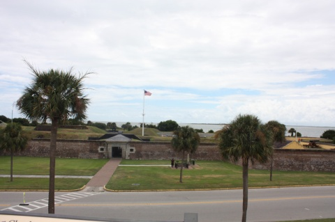 South Carolina Charleston Fort Moultrie